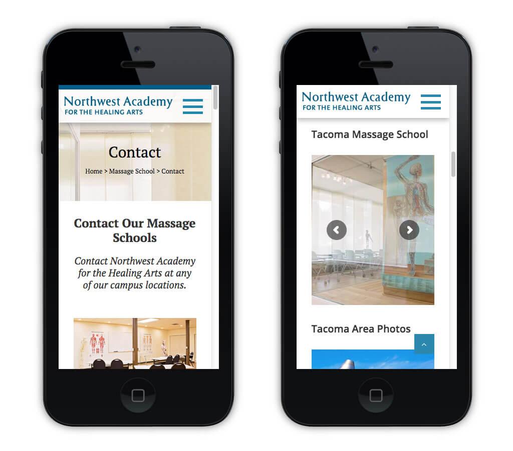 Northwest Academy – Mobile Contact