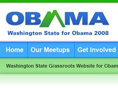 website design political grassroots
