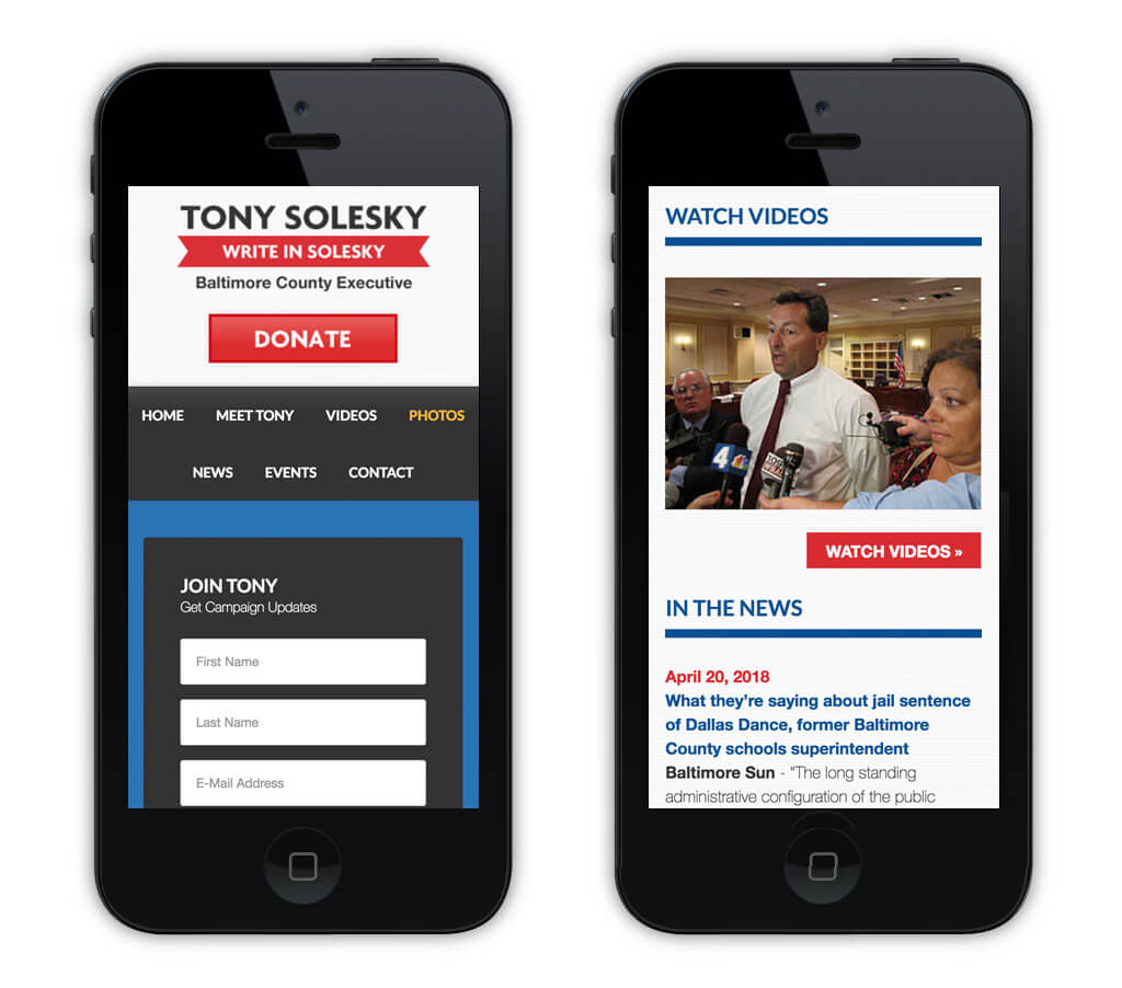mobile design county candidate